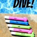 Sight Word Dive1 150x150 How to Make a PVC Soccer Goal