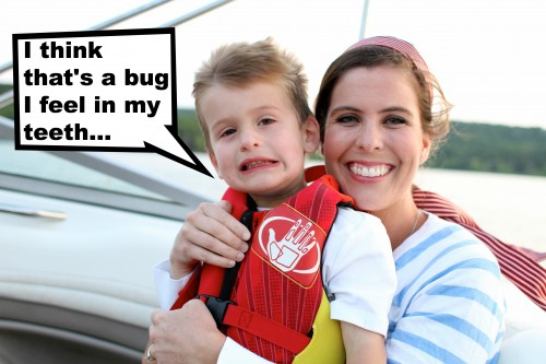 Bug in my teeth 500x333 Funny Captioned Photo Contest