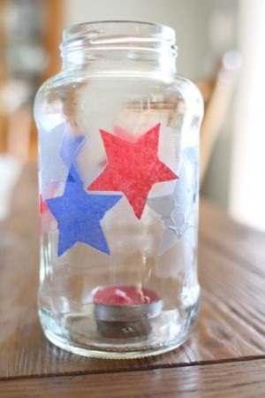 IMG 1713 300x450 Simple Fourth of July Candle Holder