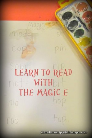 Learn to Read with the Magic E 300x450 Show and Share Saturday Link Up!