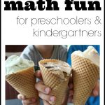 Summer Math Fun for Preschoolers & Kindergarteners