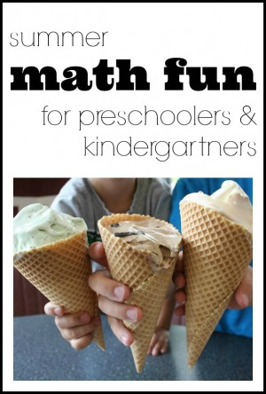 Summer Math Fun for Preschoolers Kindergarteners 300x444 Summer Math Fun for Preschoolers & Kindergarteners