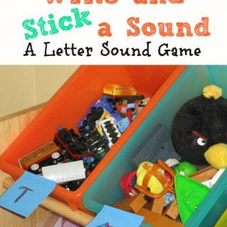 Write and Stick a Sound