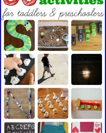 35+ Alphabet Activities and Alphabet Crafts for Toddlers & Preschoolers