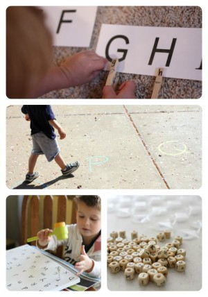 Alphabet Activities for Toddlers Preschoolers 3 300x428 35+ Alphabet Activities for Toddlers & Preschoolers