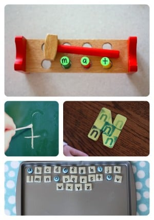 Alphabet Activities for Toddlers Preschoolers 5 300x428 35+ Alphabet Activities for Toddlers & Preschoolers