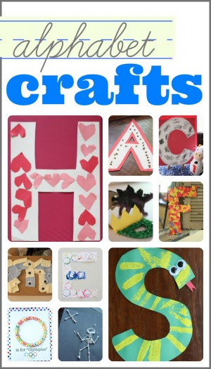 Alphabet Crafts 300x525 35+ Alphabet Activities for Toddlers & Preschoolers