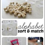 Alphabet Sort Match 150x150 Alphabet Parking Lot:  Matching Capital and Lowercase Letters