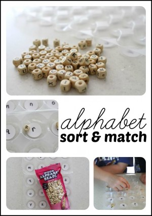 Alphabet Sort & Match