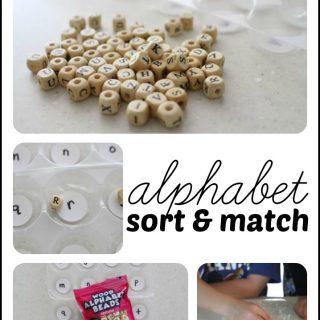 Alphabet Sort & Match