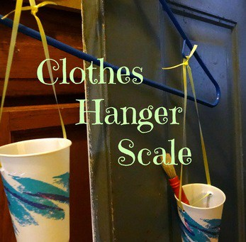 Clothes Hanger Scale Show and Share Saturday Link Up!