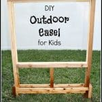 DIY Outdoor Easel for Kids 150x150 Show and Share Saturday Link Up!
