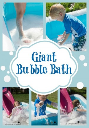 Giant Bubble Bath 300x428 Show and Share Saturday Link Up!
