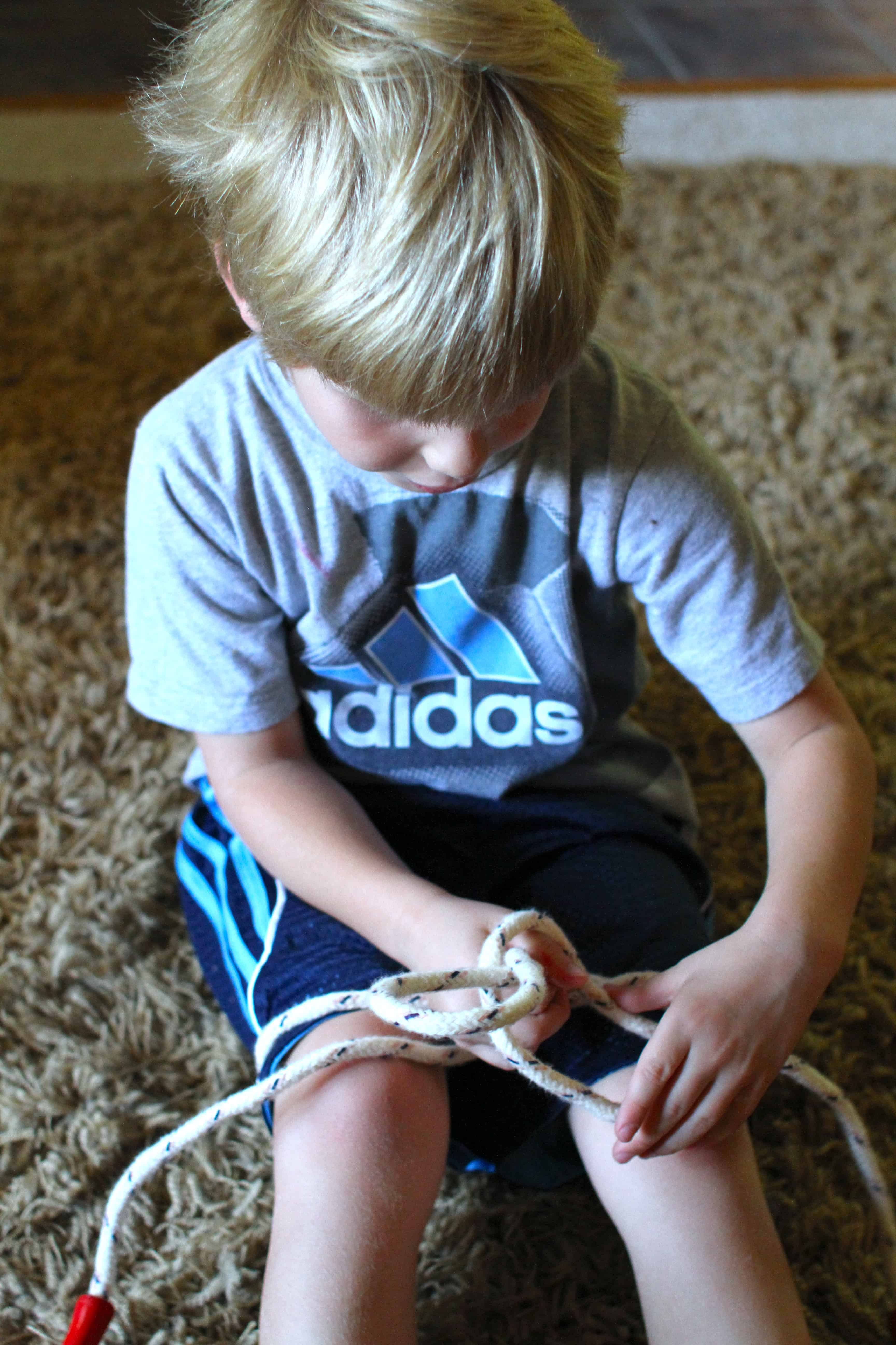 tips for teaching your child how to tie shoes