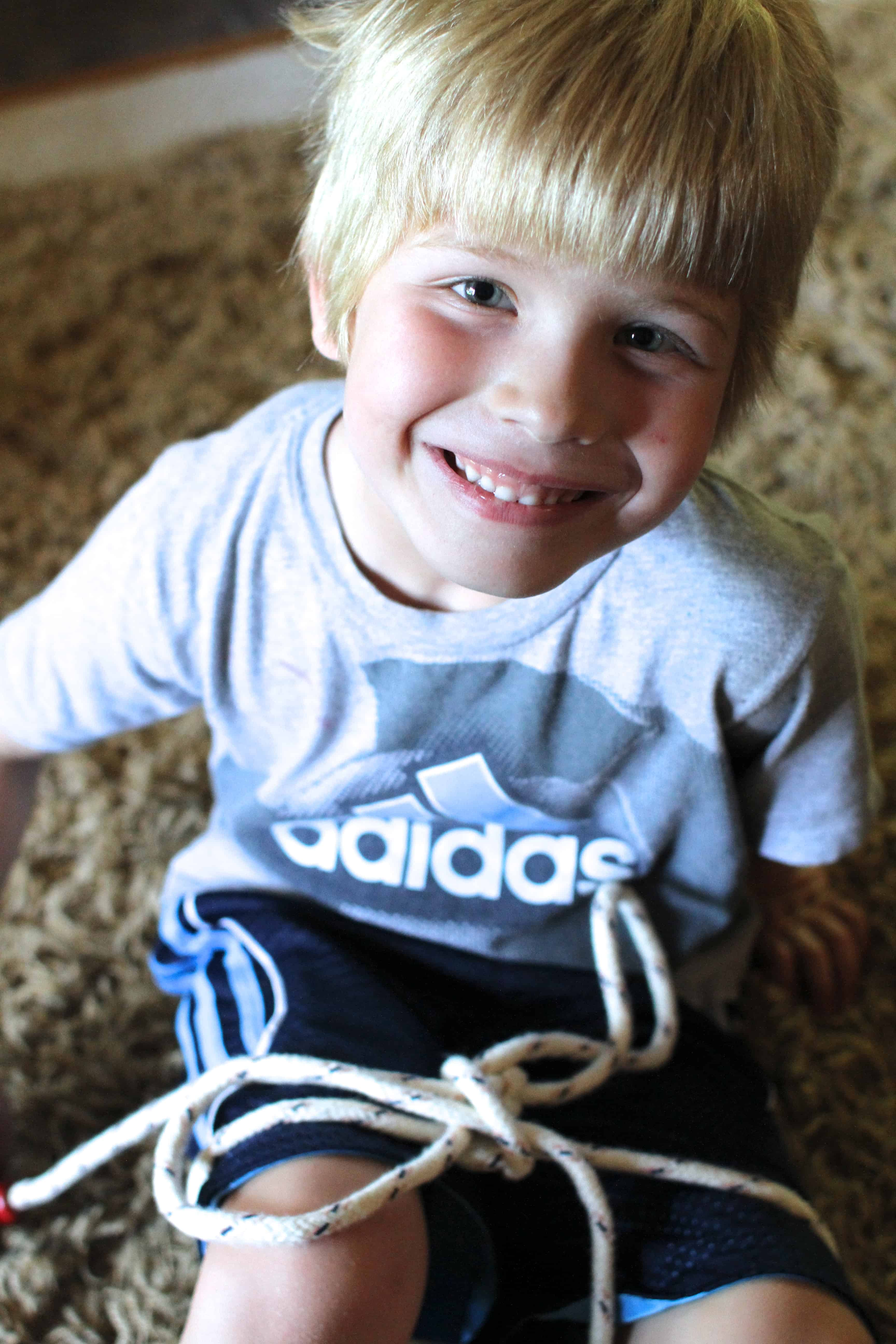 From Tears To Cheers Teach Your Child Tie Hisher Shoes