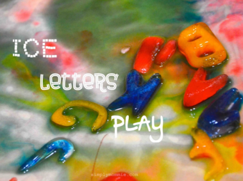Ice Letters Play