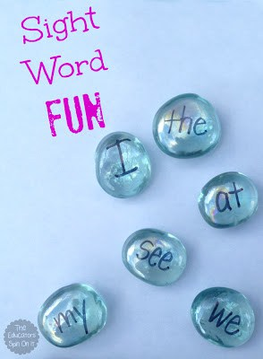 Sight Word Fun from The Educators Spin On It  Show and Share Saturday Link Up!