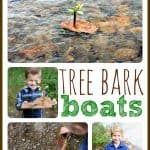 Simple Tree Bark Boats 150x150 5 Ideas for Free Summer Play