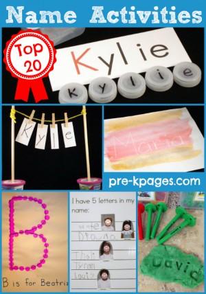 name-activities-for-preschoolers
