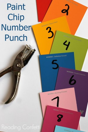 number recognition punch