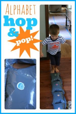 Alphabet Hop & Pop