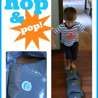 Alphabet Hop and Pop