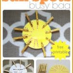 Counting Sun Spots Busy Bag 150x150 Outer Space Playdough