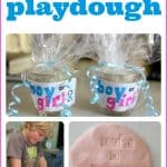 Gender Reveal Playdough 150x150 Learning and Playing while Mom is Down and Out