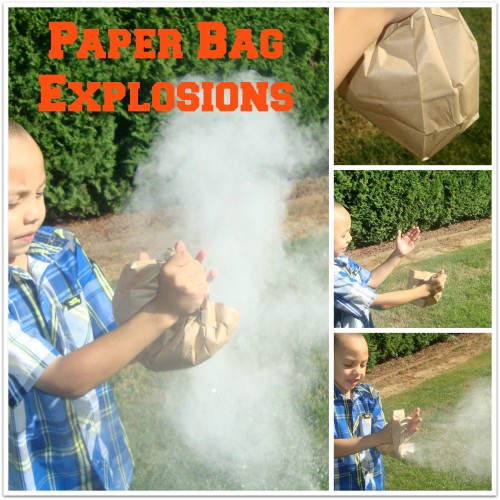 Paper Bag Explosions