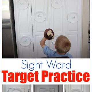 Sight Word Target Practice