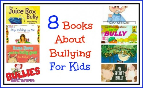 8 Books About Bullying for Kids