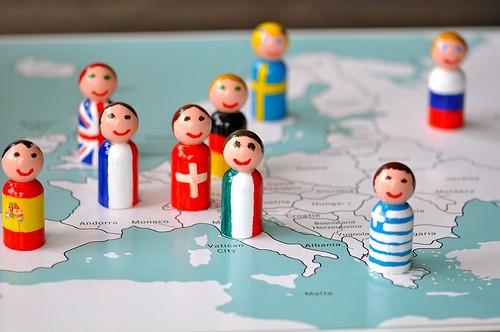 Flag People Around the World