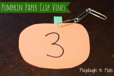 Pumpkin-Paper-Clip-Vines