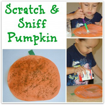 Scratch Sniff Pumpkin Show and Share Saturday Link Up!