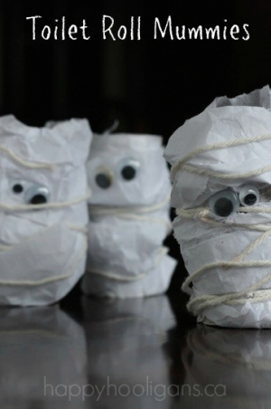 Toilet Roll Mummies