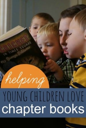 helping young children love chapter books 401 300x444 Show and Share Saturday Link Up!