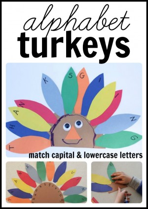 Alphabet Turkeys