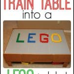 Convert Your Train Table into a LEGO table 150x150 DIY Wooden Snap Blocks