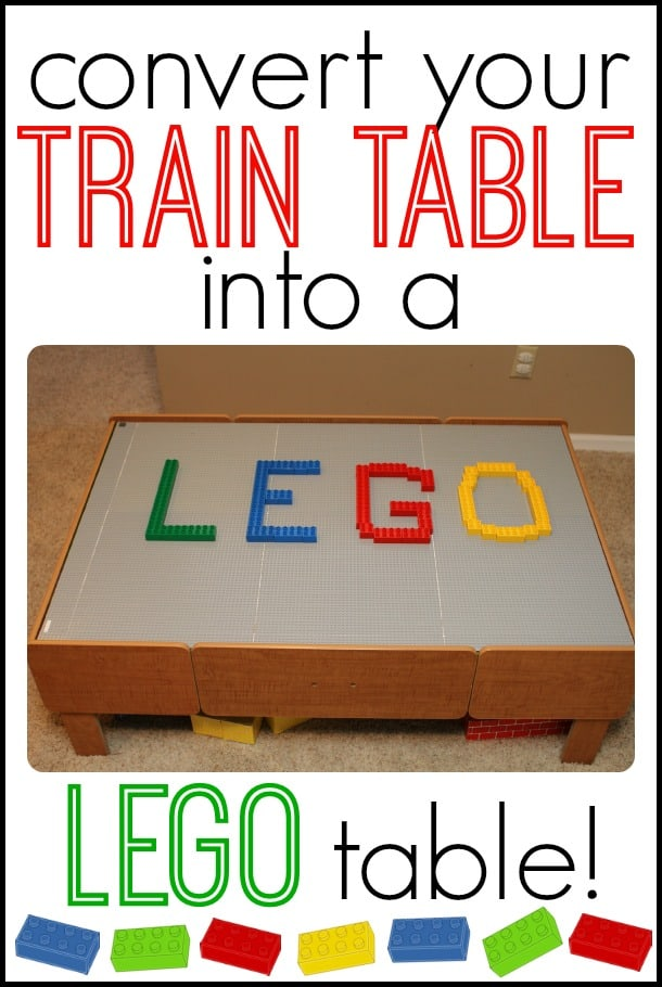 Convert Your Train Table into a LEGO table