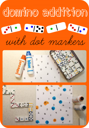 Domino Addition with Dot Markers