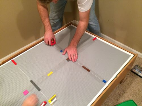 IMG 3598 Convert Your Train Table into a LEGO Table