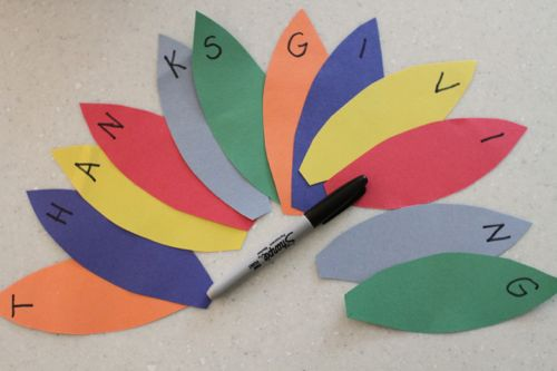 IMG 4058 Alphabet Turkeys:  Match Capital and Lowercase Letters