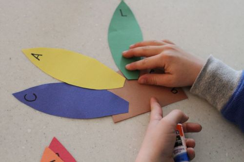 IMG 4066 Alphabet Turkeys:  Match Capital and Lowercase Letters