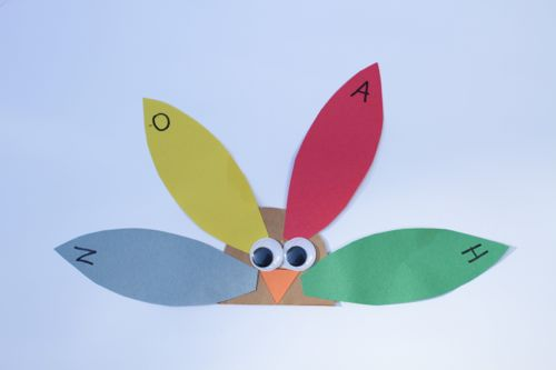 IMG 4079 Alphabet Turkeys:  Match Capital and Lowercase Letters