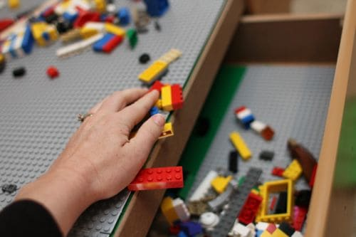 IMG 4605 Convert Your Train Table into a LEGO Table