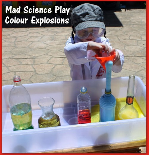Mad Scientist Color Explosions