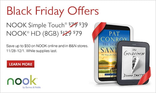 Nook Deals Black Friday Deals