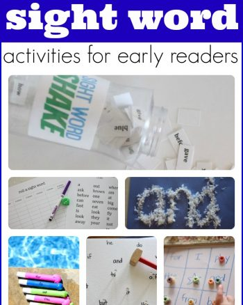 Fun and Easy Sight Word Activities for Kids