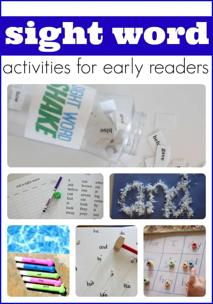 My word Teach  sight i Kids   Word Sight for activities I Child! Activities Can