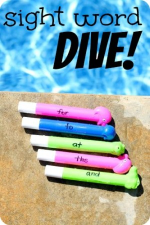 Sight Word Dive 300x450 Sight Word Activities for Kids